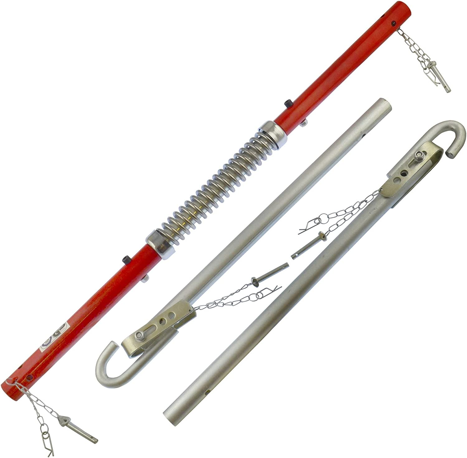 GS TUV Approved Car Van Recovery 1800kg Spring Loaded Damper Towing Tow Pole Bar