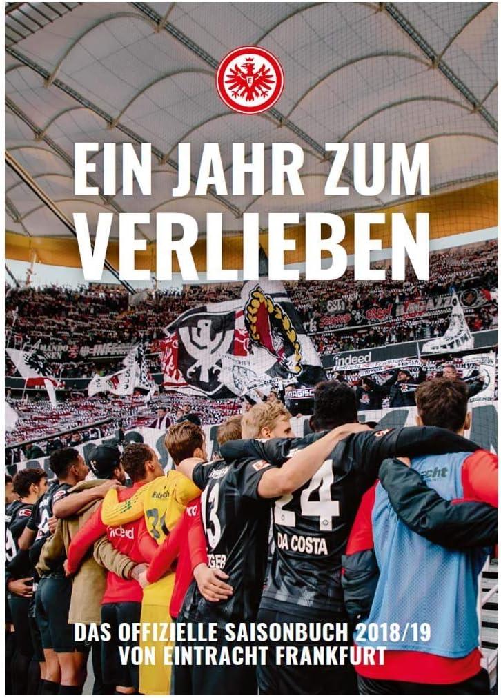 Chronik SGE Eintracht Frankfurt Saisonbuch 2018//19 Jahrbuch Buch Plus Lesezeichen I Love Frankfurt