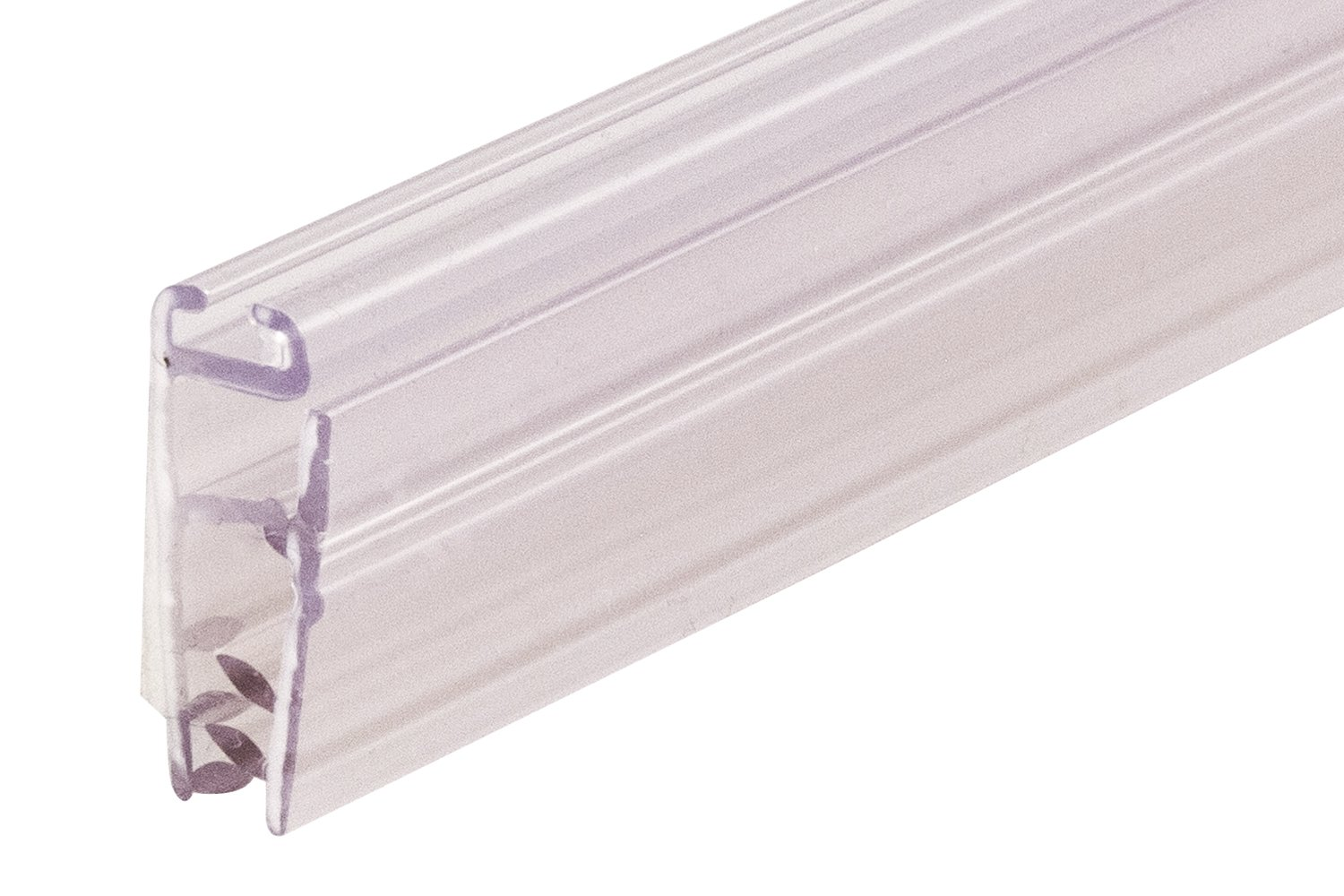 Pack of 120 Clear 24 Length FFR Merchandising 6118557503 Mercury Fast Load Banner//Sign Holder with Adhesive 24 Length