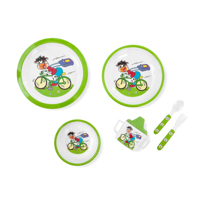 Vajilla 6 piezas Innovaciones MS 8604 dise/ño ciclista