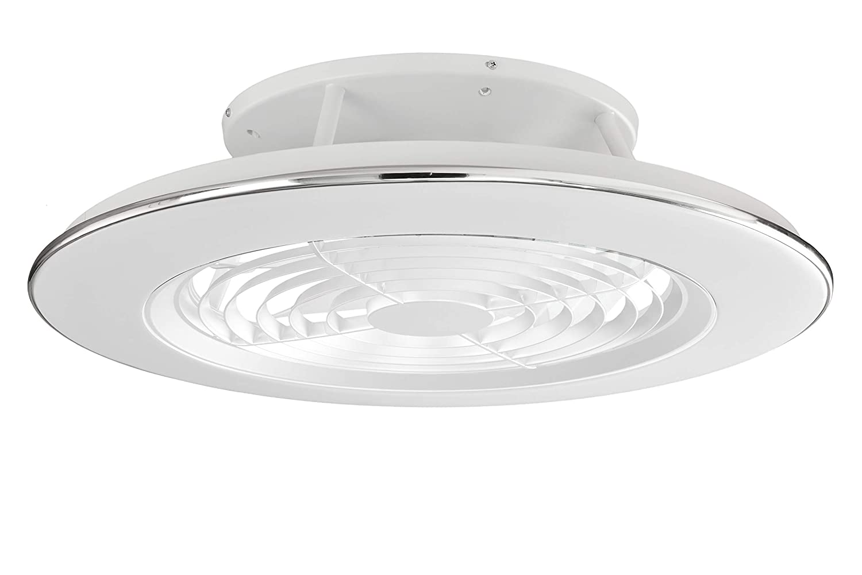 ALISIO 30W LED Deckenventilator 70W wei/ß mit Fernbedienung und APP