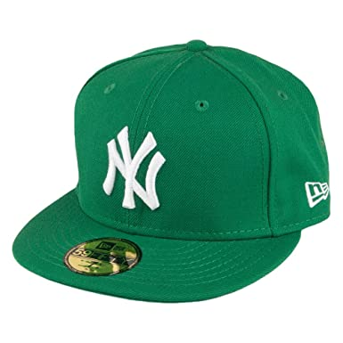 Gorra de béisbol 59FIFTY New York Yankees de New Era - Verde: Amazon.es: Ropa y accesorios