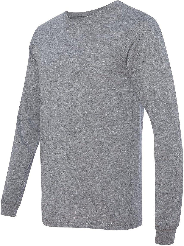 Bella + Canvasメンズジャージー長袖TシャツTシャツ(3501 ) B00I2Z663A Small|グレートライブレンド グレートライブレンド Small