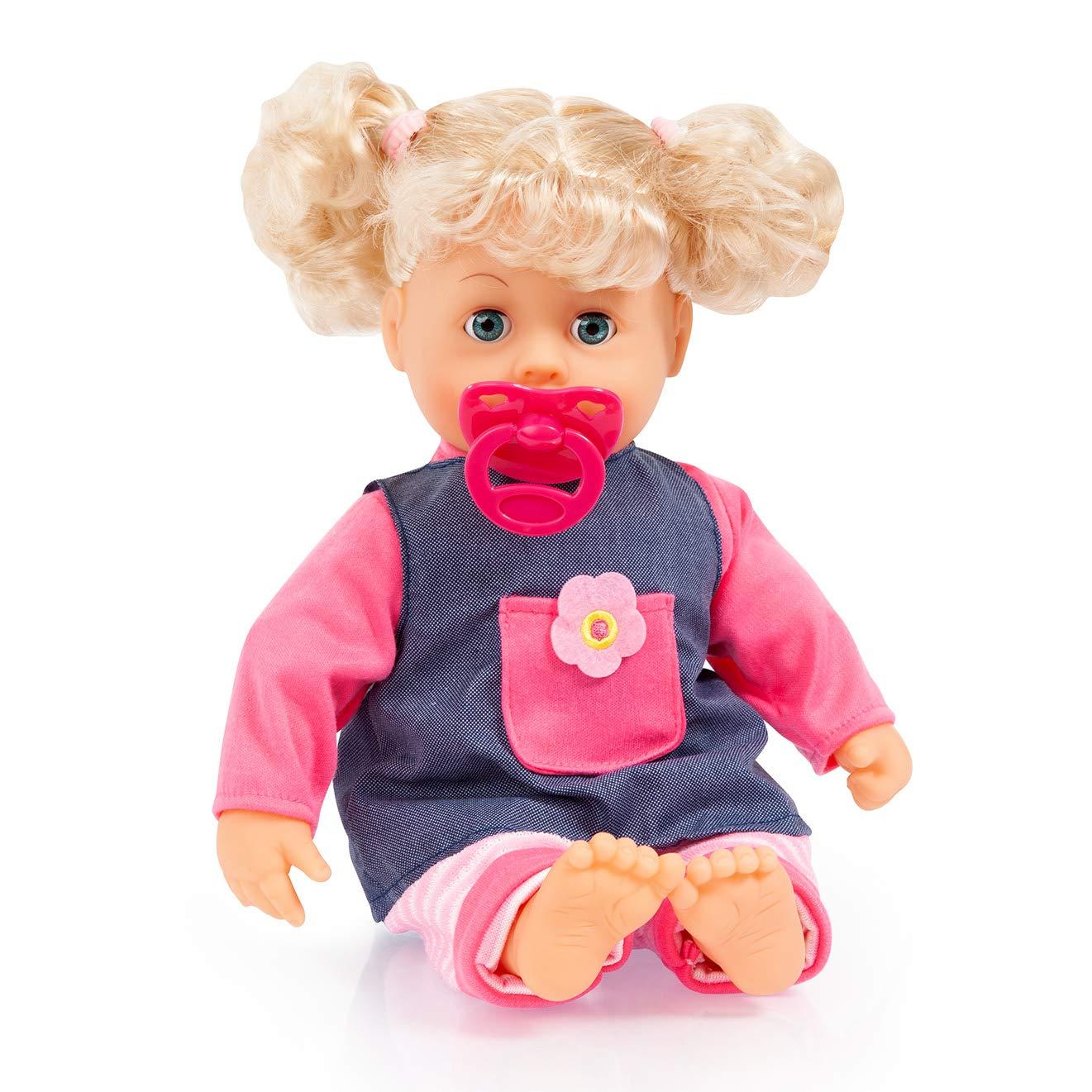Amazon.es: Bayer Design Muñeca Bebé, Interactive Baby, con ...