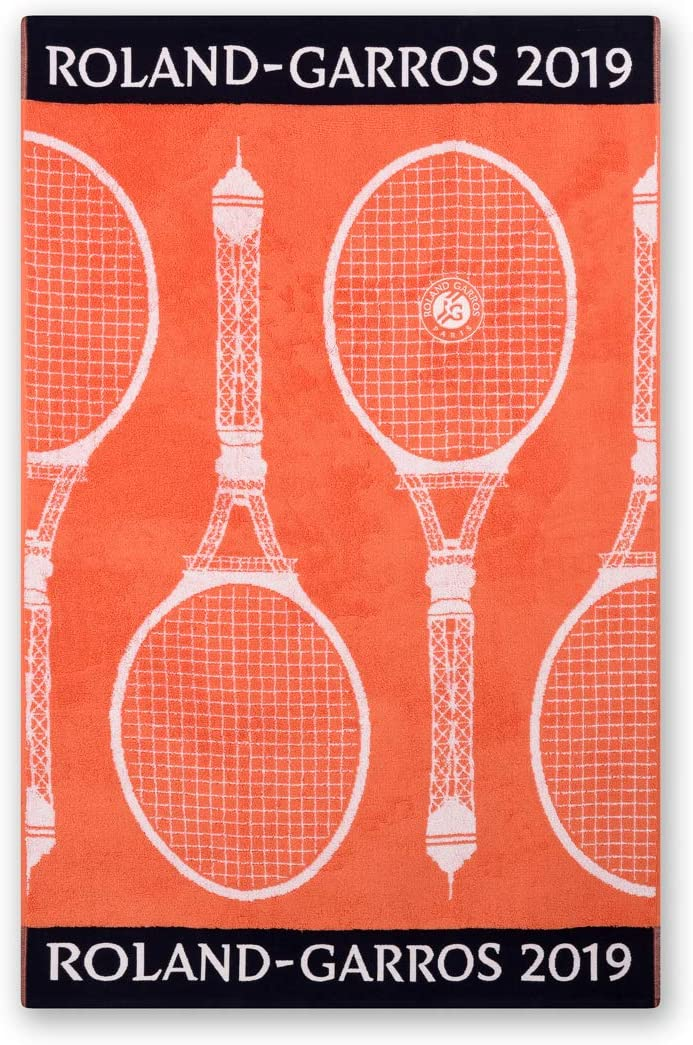Roland-Garros 2019 Playing Towel - Battle Earth, Terre Battue, One size: Amazon.co.uk: Kitchen & Home