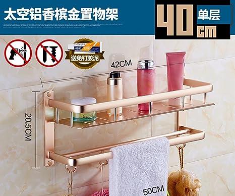 ZXC Bathroom racks No Hay Necesidad para el punzonado de baño estantes, Colgantes de Hardware