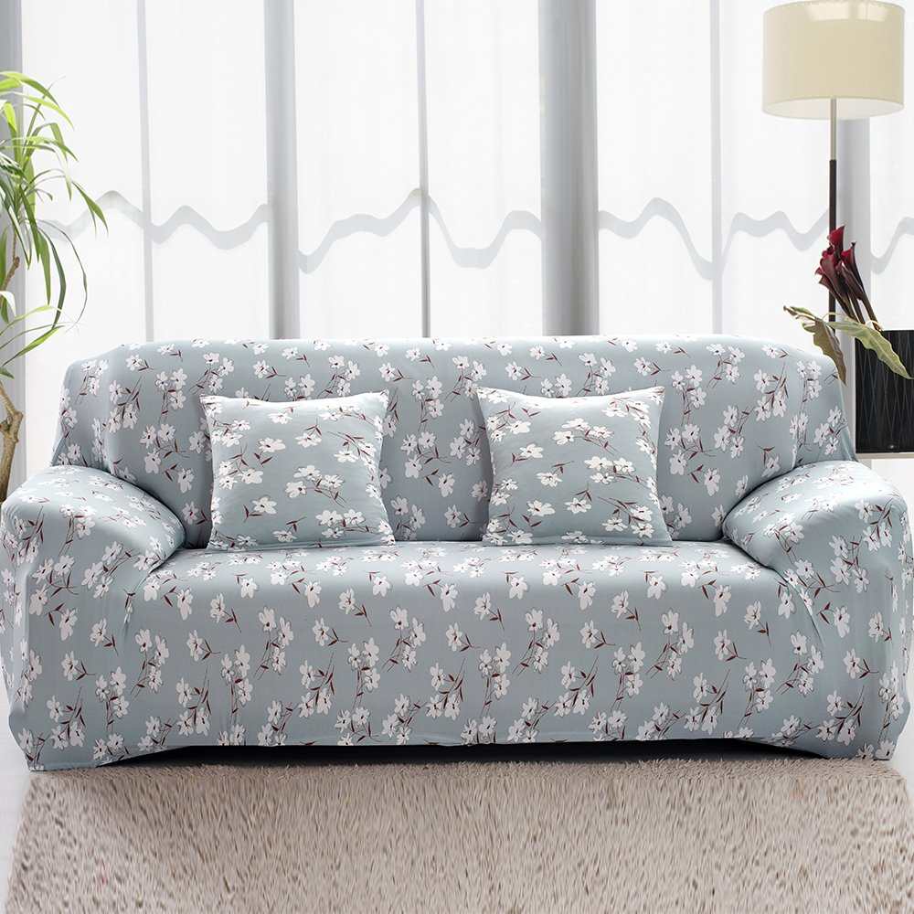 2 Seater Sofa Cover Loveseat Slipcover Elastic Fabric Couch Cover Settee Protector littleduckling