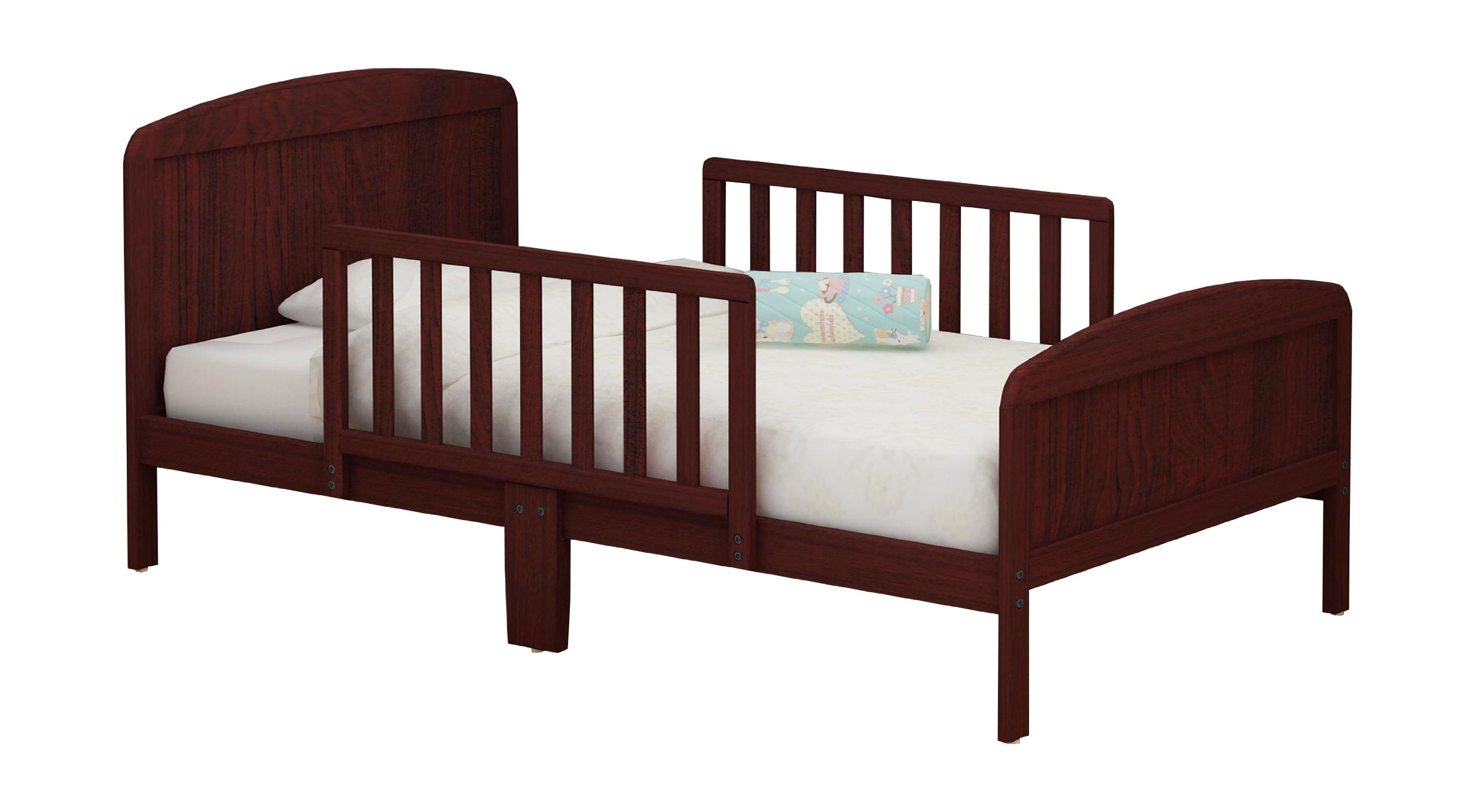 RUSSELL CHILDREN Products Harrisburg Wood Toddler Bed, Rich Cherry by RUSSELL CHILDREN