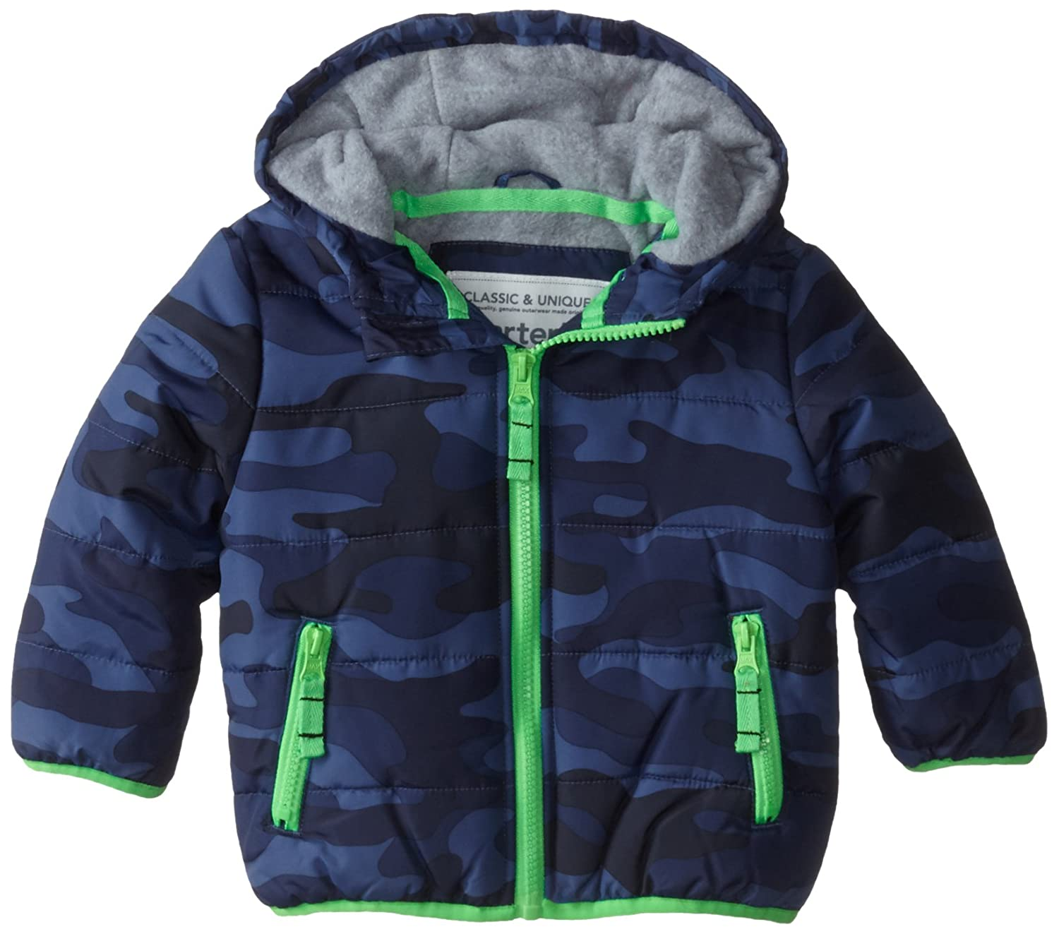 Carter's baby-boys Baby Heavyweight Zip Front Closure Single Jacket Carter's C215696