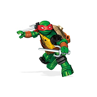 Mega Construx Teenage Mutant Ninja Turtles Raph Stealth Building Kit: Toys & Games