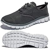 Saibhreas Men's Women's Running Shoes Lightweight Mesh Sneakers Breathable Casual