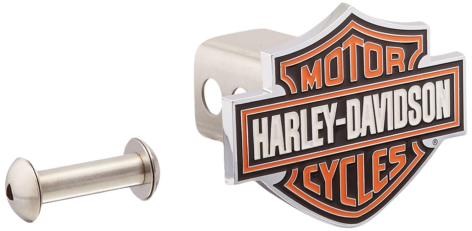 Harley-Davidson Orange Bar & Shield Trailer Hitch Cover 2'' HDHC25 by Harley-Davidson LFI LFIHDHC25