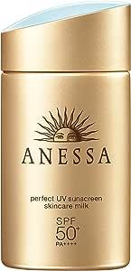 shiseido anessa perfect uv sunscreen skincare milk SPF50+/PA++++ 60mL/2oz