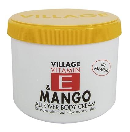 Aldea Cosméticos vitamina E Body Cream, Mango 500 ml