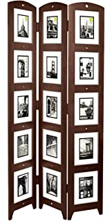 52 In Tall Standing Panel Photo Decorated 5x7 Privacy Screen