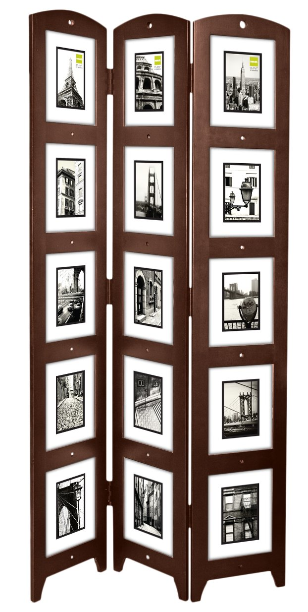 Relatively Amazon.com: Kiera Grace Triple Panel Floor Photo Screen, 33 by  ND19
