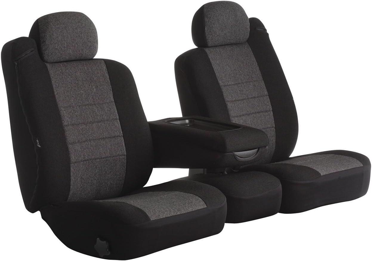 B000BTTDYO Fia OE37-18 CHARC Custom Fit Front Seat Cover Bucket Seats - Tweed, (Charcoal) 71zsq9HL0uL.SL1500_