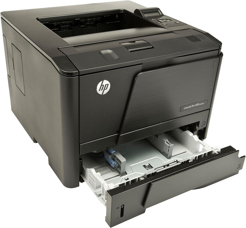 HP LaserJet Pro 400 M401DNE Laser Printer - Monochrome - 1200 x 1200 dpi Print - Plain Paper Print - Desktop CF399A#201