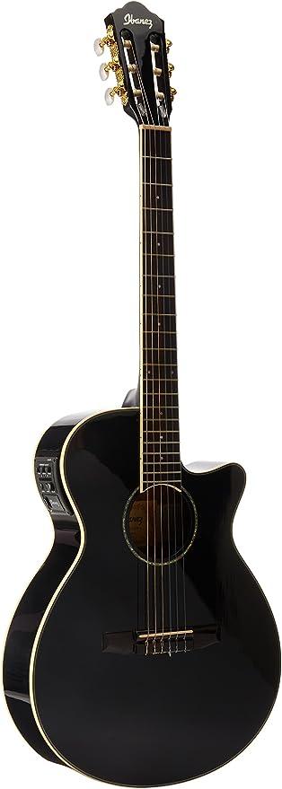 Ibanez AEG10NII - Bk guitarra acústica electrificada: Amazon.es ...