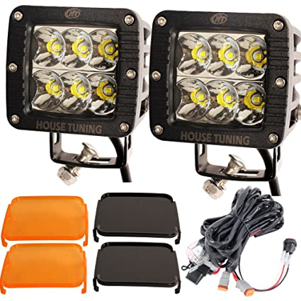 amazon com house tuning 30w 3inch led spotlights led off road rh amazon com Double Wide Spotlights On House Outdoor House Spotlights Lighting