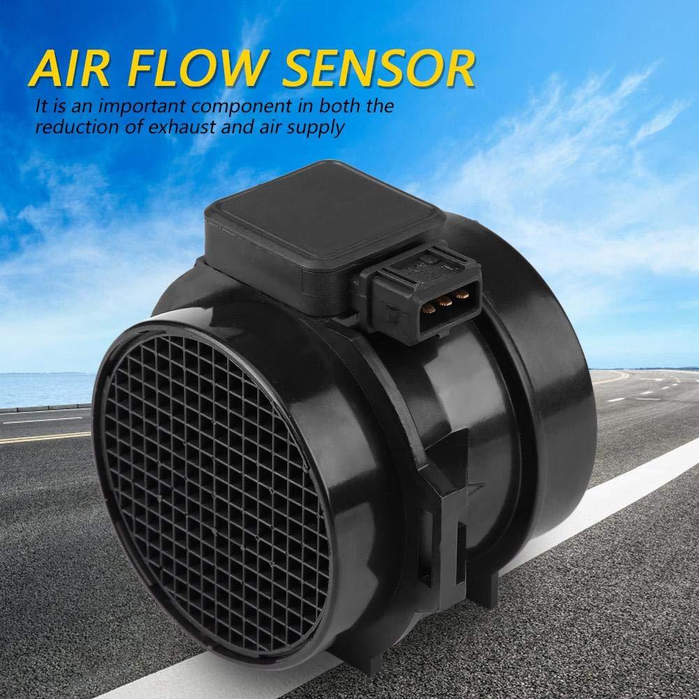 Terisass 13621432356 Air Mass Flow Sensor Meter 5WK9605 MAF Sensor for Nissan Pickup 1995 1996 D21 1991 1992 1993 1994 Land Rover Freelander 2002 2003 2004 2005 Suzuki Verona 2004 2005 2006