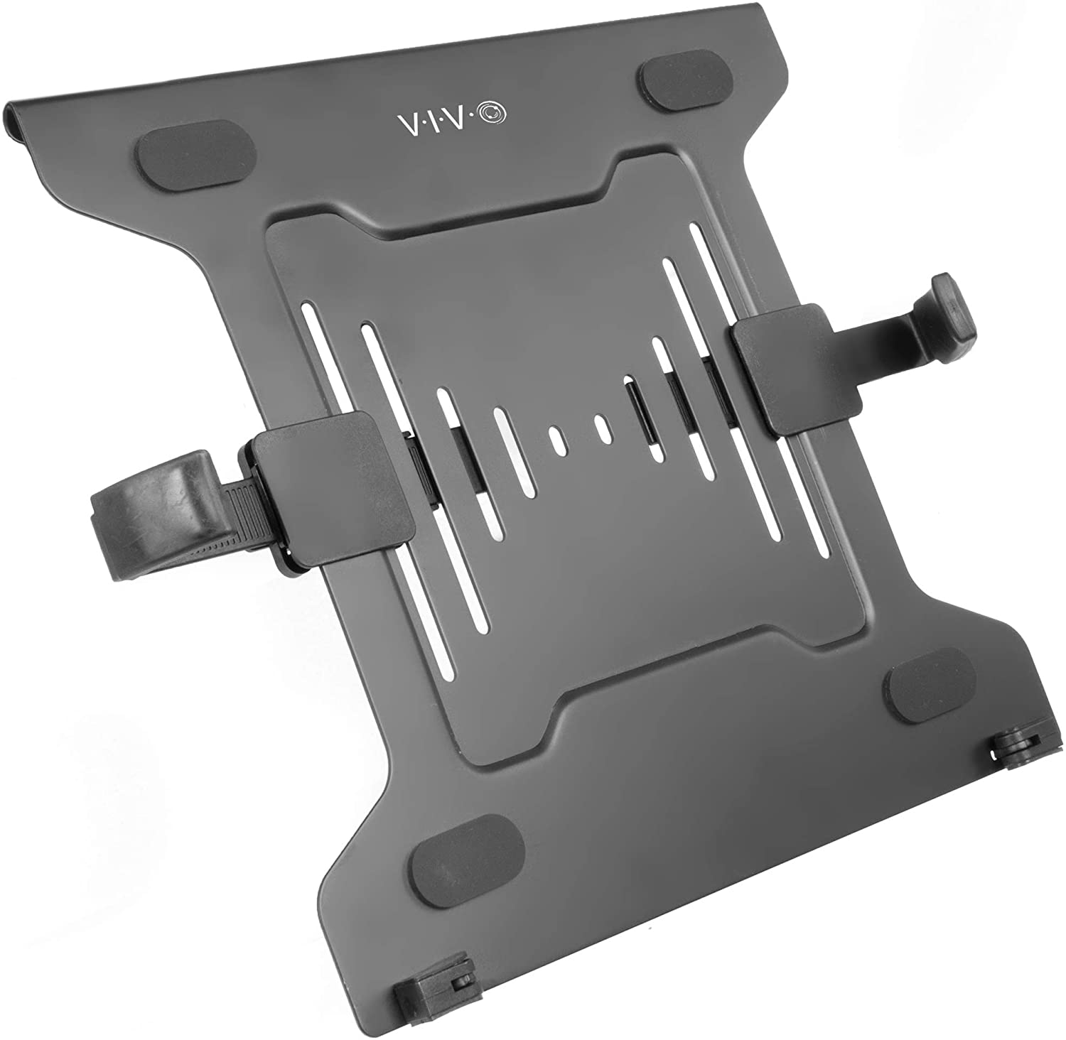 VIVO Universal Adjustable 10 to 15.6 inch Laptop Mount Holder for VESA Compatible Monitor Arms, Notebook Tray (Stand-LAP3)