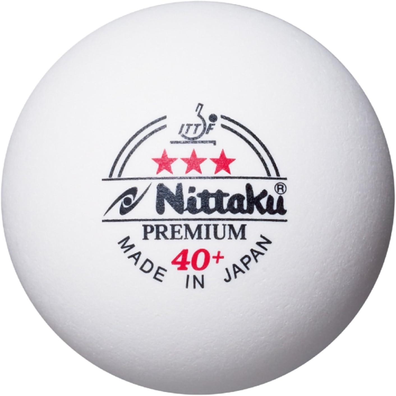 NITTAKU 40+ *** Premium Pack 3u. Blancas