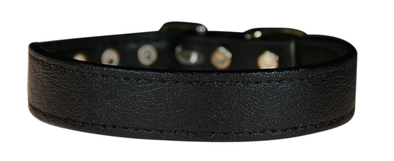 Evans Collars 3 4  Shaped Collar, Size 14, Vinyl, Black