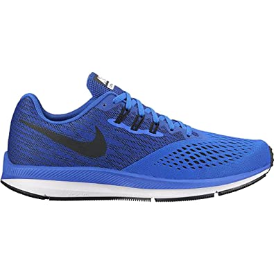 hot products cheap sale various colors Nike Men's Zoom Winflo 4 Racblu/Black Running Shoes-6 UK (40 ...