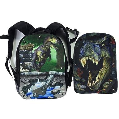 Mingdou Dinosaur Backpack For Toddler Kids Boys Girls Animal Personalized  Printing Bags(DB2Dinosaur1 3318ec114b546