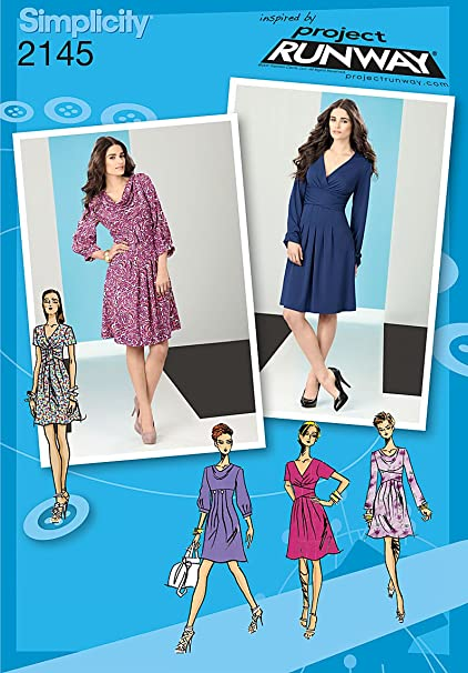 Amazon Simplicity Sewing Pattern 2145 Misses Dresses Inspired