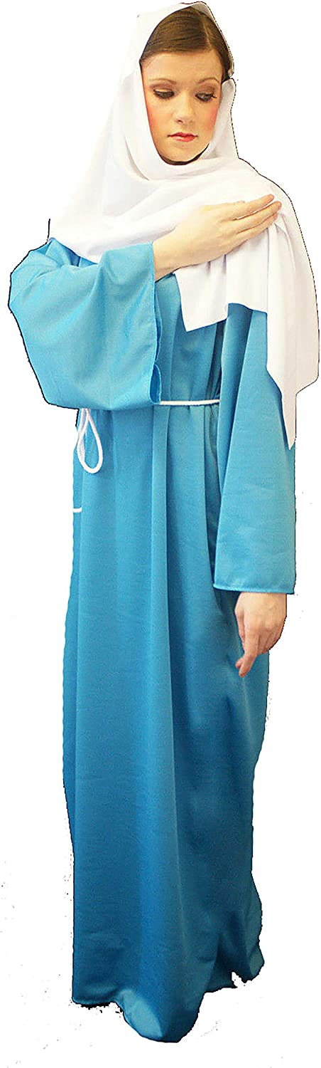 Nativity-Christmas--Bible-Ladies MARY MAGDALENE COSTUME Fancy Dress All Sizes