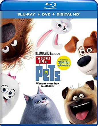 Amazon Com The Secret Life Of Pets Blu Ray Louis C K Eric
