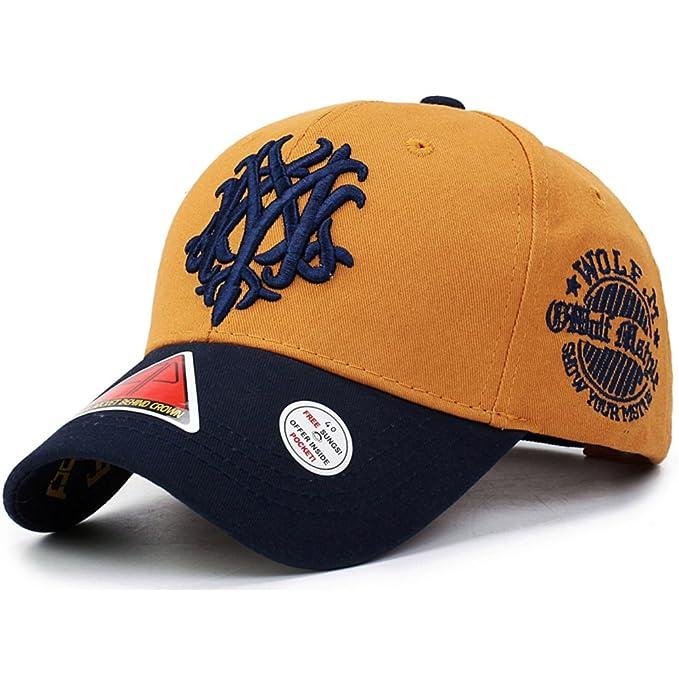 Sombrero/ otoño de hombres de gorra béisbol Coreano/Las mujeres cap/Amantes de la moda que sombreros del deporte/Gorras de visera-F ajustable: Amazon.es: ...