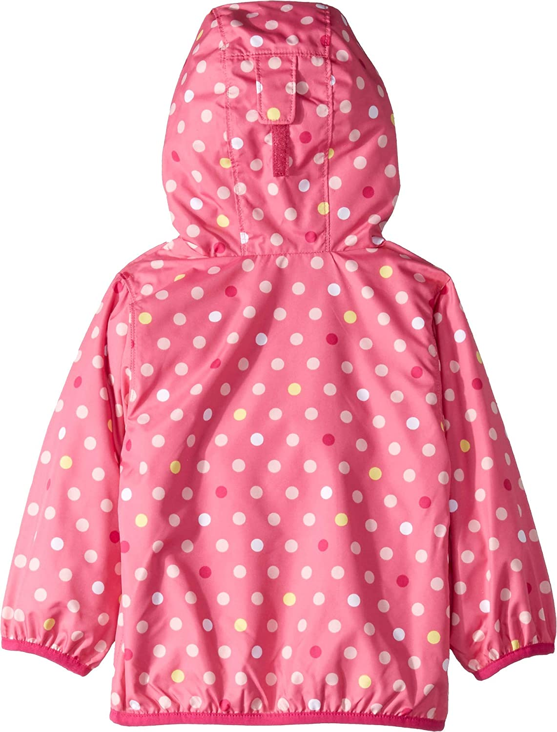 Wild Geranium Polkadot 18-24 Months Infant//Toddler Columbia Kids Baby Girls Mini Pixel Grabber/¿ II Wind Jacket