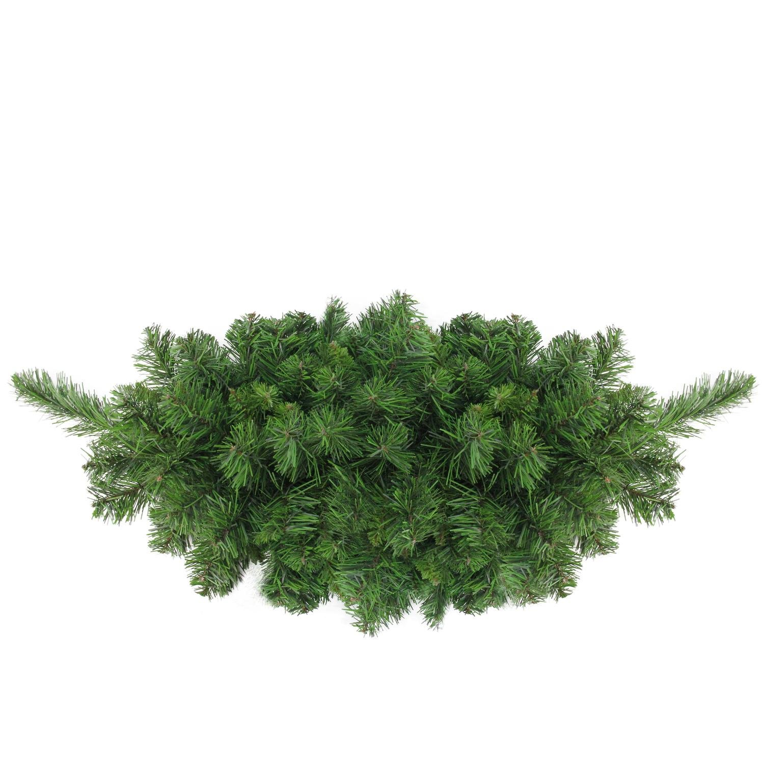 Northlight 32'' Lush Mixed Pine Artificial Christmas Swag - Unlit