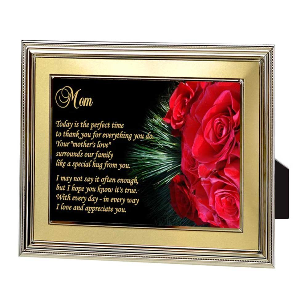 Amazon.com: Gift for Mom – Touching Poem for Mother in Frame From ...