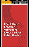 The 1-Hour Teacher : Microsoft Excel - Pivot Table Basics