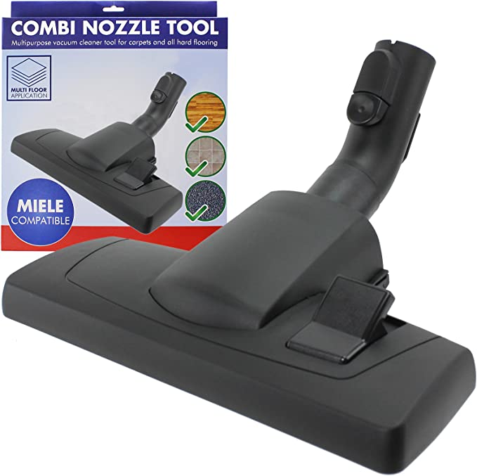 Spares2go Suelo Cepillo Herramienta para Miele Compact completa C1 C2 C3 PowerLine aspiradora: Amazon.es: Hogar