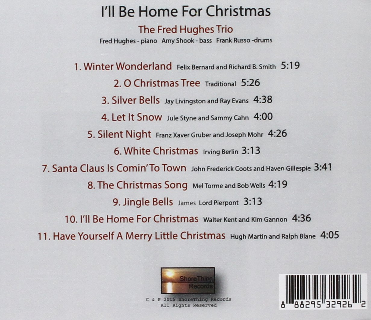 Fred Hughes - I\'II Be Home For Christmas - Amazon.com Music