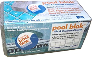 Pool Blok, PB-12 by US Pumice, Pumice Stone for Cleaning of Pools, Tiles, Pummis Stone to Remove Lime, Rust, Algae from Pools, 5.75x2.87x2.87 (1)