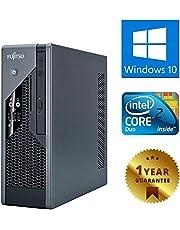 PC COMPUTER DESKTOP FISSO CON WINDOWS 10 PRO FUJITSU ESPRIMO C5731 | INTEL DUAL CORE | RAM 4GB | HDD 160GB | DVD | DVI - VGA (Ricondizionato)
