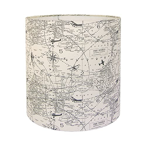 Amazon custom lamp shade airplane lampshade air traffic lamp custom lamp shade airplane lampshade air traffic lamp shades felix natural grey off white childrens lamp mozeypictures Gallery