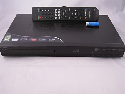 Insignia NS-BRDVD4 Full 1080p Blu-ray Player with Netflix