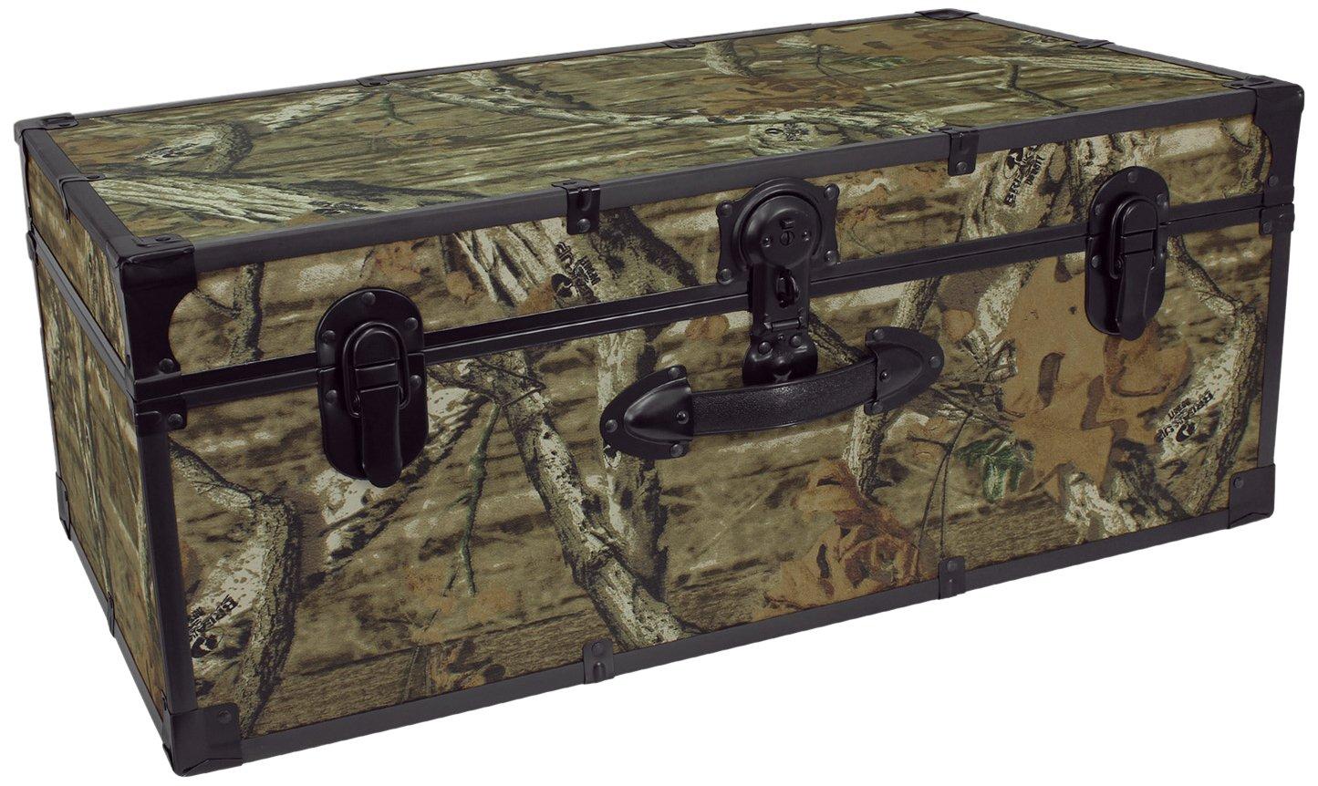 Seward Trunk Mossy Oak 30-inch Stackable Storage Locker, Camo