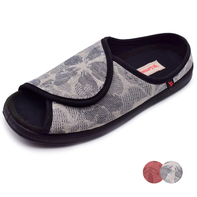 a07f17d9b67e2 Amazon.com   NKeepB Woman Adjustable Width Open Toe Sandals Diabetic ...