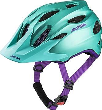 Alpina Carapax JR - Mochila para niña Casco de Bicicleta, Color ...