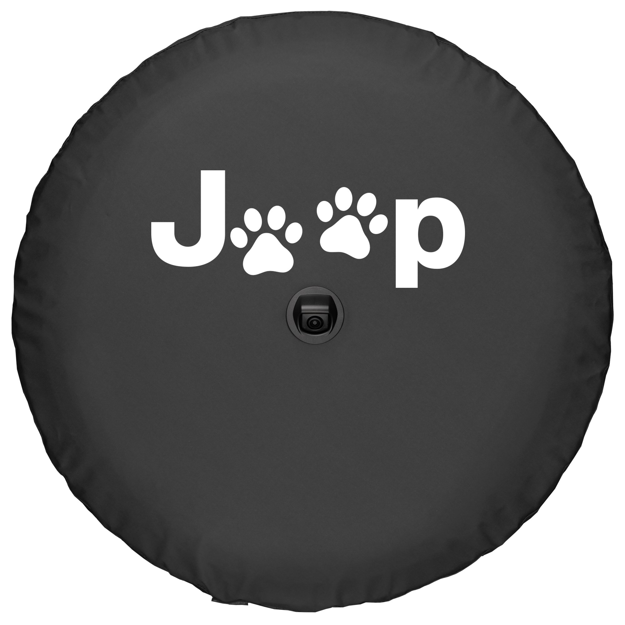 Boomerang 2018 Jeep Wrangler Rubicon JL & JLU - 33'' Soft Tire Cover - Jeep Paws by Boomerang (Image #3)