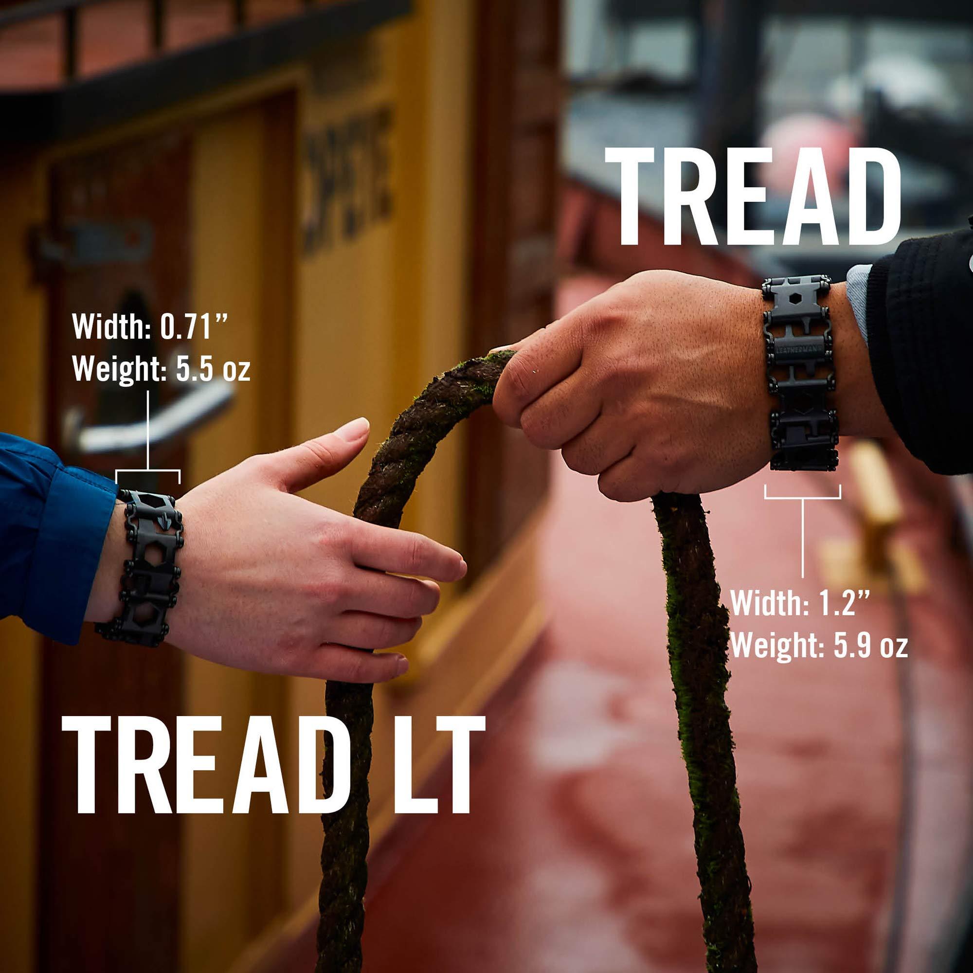 LEATHERMAN - Tread Bracelet, The Original Travel Friendly Wearable Multitool, Black by LEATHERMAN (Image #10)