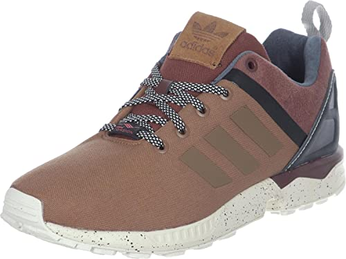56adcc25b289a Adidas - ZX Flux Split - AF6405 - Color  Brown - Size  9.0  Amazon ...